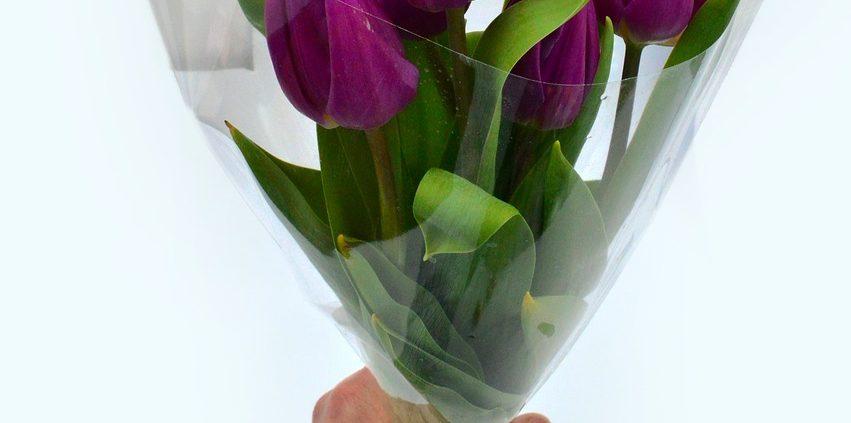 Husk blomster til de raske kolleger