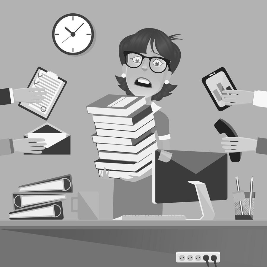Stress på arbejdspladsen - derfor opstår stress
