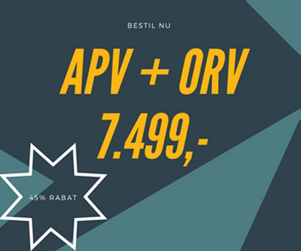 APV+ORV = 7499,-